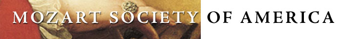 Mozart Society of America logo