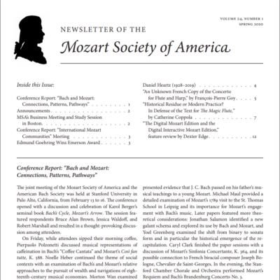 MSA Spring 2020 newsletter